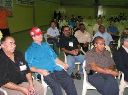 Neto, presidente do Secor, e diretores participam da atividade/Assessoria de Imprensa
