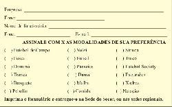 Clique na imagem. Você poderá preencher esse formulário e entregá-lo na sede ou subsedes do Secor/Assessoria de Imprensa