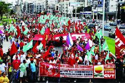 CUT reforça lutas dos trabalhadores durante festa de 1º de Maio/Divulgação