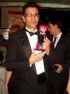 Luciano Leite recebe prêmio em nome do Secor/Divulgação