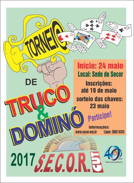 torneio de truco e domino