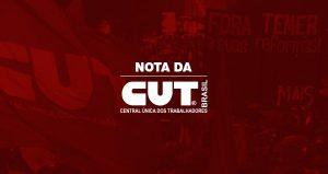 Edson Riomonatto/ CUT Nacional