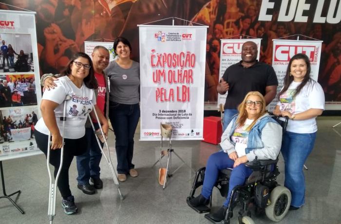 Exposição celebra o mês de luta das pessoas com deficiência